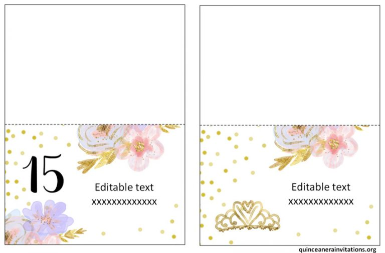 Quinceanera Labels