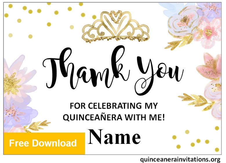 quinceanera gift cards